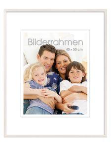 """INTERTRADING Bilderrahmen """"Vienna"""" 40 x 50 cm weiß"""