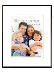 """INTERTRADING Bilderrahmen """"Vienna"""" 40 x 50 cm schwarz"""