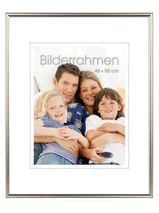 """INTERTRADING Bilderrahmen """"Vienna"""" 40 x 50 cm silber"""