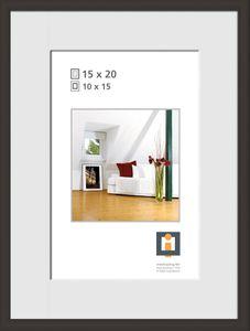 """INTERTRADING Bilderrahmen """"Vienna"""" 15 x 20 cm schwarz"""
