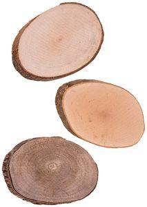 Holzscheiben 12 Stück