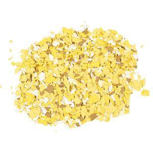 Terrazzo-Flocken in Streudose 90g gelb