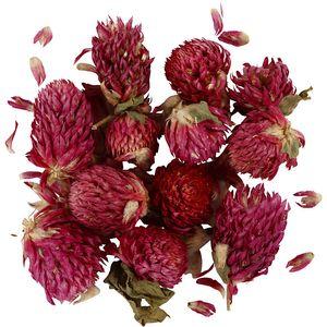 """Trockenblumen """"Roter Klee"""" 15 g dunkelrot"""
