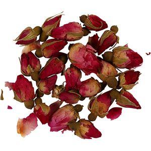 """Trockenblumen """"Rosenknospen"""" 15 g dunkelrosa"""