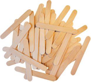 PLAYBOX Holzstäbchen 100 Stück 150 x 18 mm braun
