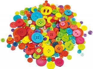 Knöpfe-Set 500 Stück mehrere Farben
