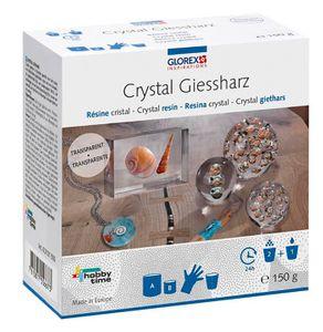 GLOREX Crystal-Gießharz 150g inkl. Zubehör