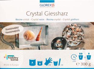 GLOREX Crystal-Giessharz 300g inkl. Zubehör