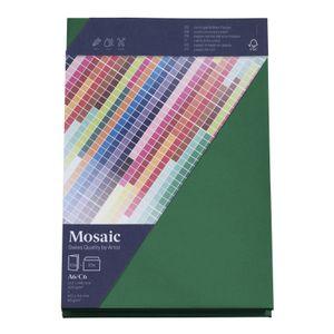 MOSAIC Creative C6 Kuverts und A6 Karten je 10 Stück tannengrün