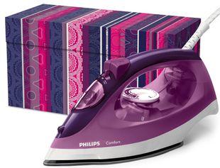 """PHILIPS Dampfbügeleisen """"Comfort"""" 2.000 Watt violett"""