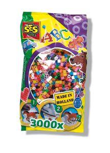 SES Bügelperlen 3.000 Stück bunt