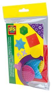 SES Stiftplatten für Bügelperlen 5 Stück mehrere Farben