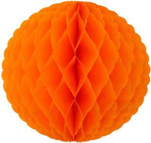 Wabenball Ø 30 cm orange