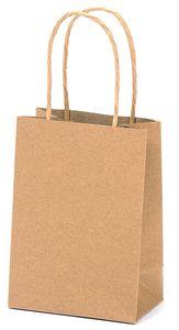 Papiertragetasche 11 x 6,5 x 15,5 cm braun