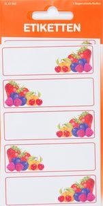 """Etiketten zum Einkochen """"Obst-Ecke"""" 15 Stück"""