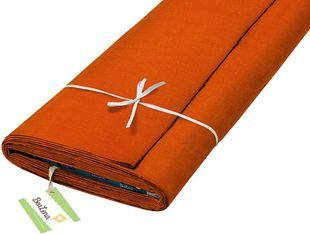 "HOTEX Baumwollstoff ""Uni"" 145 cm orange"