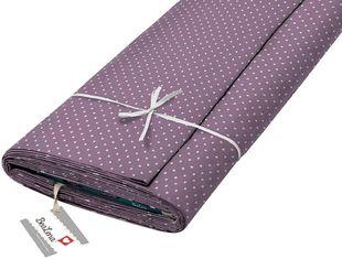 """HOTEX Baumwollstoff """"Punkte"""" 140 cm violett"""