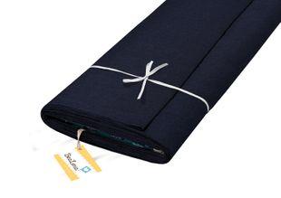 """HOTEX Baumwollstoff """"Uni"""" 145 cm marineblau"""