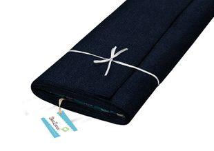 """HOTEX Jeansstoff aus Baumwolle """"Uni"""" 150 cm blau"""