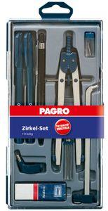PAGRO Zirkel-Set 9 Teile