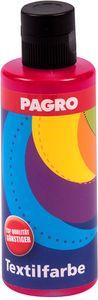 PAGRO Textilfarbe 80 ml rubinrot