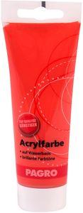 PAGRO Acryl-Farbe 100 ml zinnoberrot