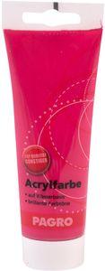 PAGRO Acryl-Farbe 100 ml karminrot