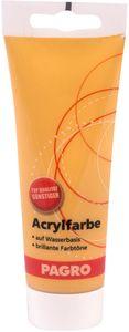 PAGRO Acryl-Farbe 100 ml ocker