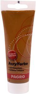 PAGRO Acryl-Farbe 100 ml mittelbraun