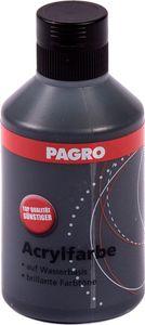 PAGRO Acryl-Farbe 250 ml schwarz