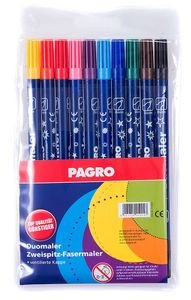 PAGRO Duomaler mehrere Farben 10 Stück