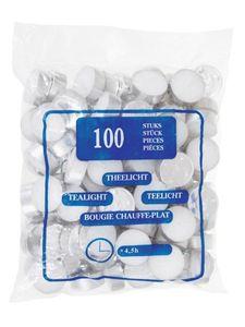 HOFER Teelichter weiß 100er