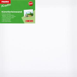 PAGRO KREATIV Keilrahmen 80 x 80 cm weiß