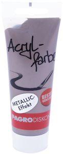 PAGRO Acryl-Farbe 100 ml metallic schlamm