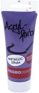 PAGRO Acryl-Farbe 100 ml metallic violett