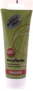 PAGRO Acryl-Farbe 100 ml metallic olivgrün