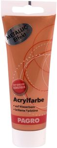 PAGRO Acryl-Farbe 100 ml metallic kupfer