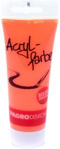PAGRO Acryl-Farbe 100 ml neon orange