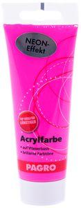 PAGRO Acryl-Farbe 100 ml neon rosa