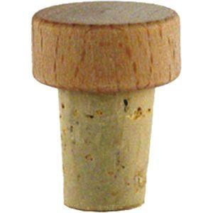 Griffkorken 15 mm für Opera Glasflasche 0,2 Liter 6 Stück