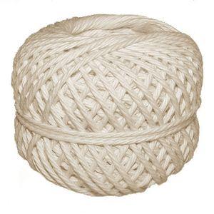 Bindfaden aus Baumwolle 100g 50 m weiß