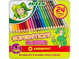 "JOLLY Buntstifte ""Supersticks Classic"" 24 Stück mehrere Farben"