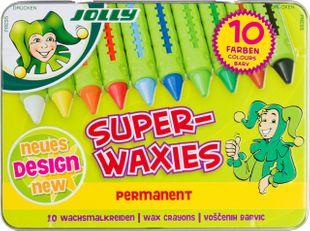 "JOLLY Wachsmalkreiden ""Permanent"" 10 Farben"
