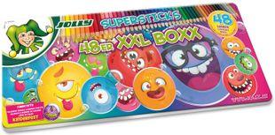 """JOLLY Buntstifte """"Supersticks"""" XXL Box 48 Farben"""