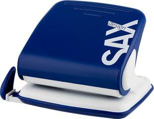 """SAX Design Locher """"418"""" für 25 Blatt blau"""