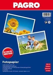 PAGRO Fotopapier A4 25 Blatt 240g